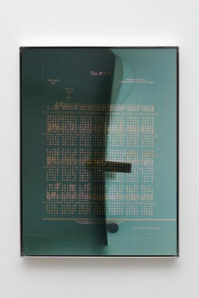 Jesse Stecklow, 'Untitled (Silk)', 2016