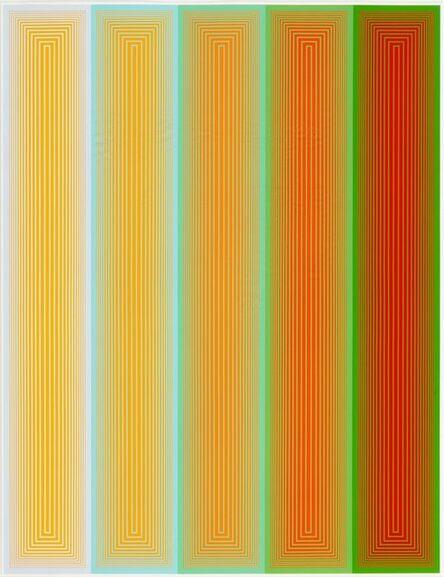 Richard Anuszkiewicz, 'Inward Eye #5, from Inward Eye', 1970