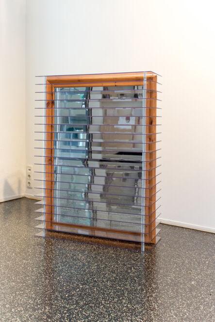 Peter Weibel, 'Scanned Mirror', 2015