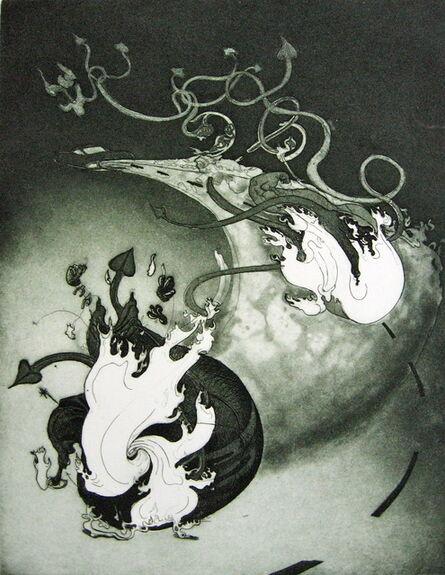 Inka Essenhigh, 'Devil on the Highway', 2001