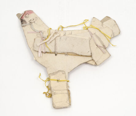 James Castle, 'Untitled (White hen with two legs)', n.d.