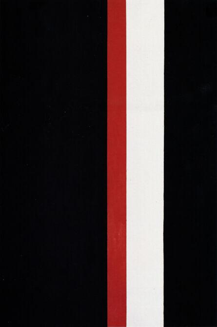 Regina Aprijaskis, 'Negro, rojo y blanco', 1997