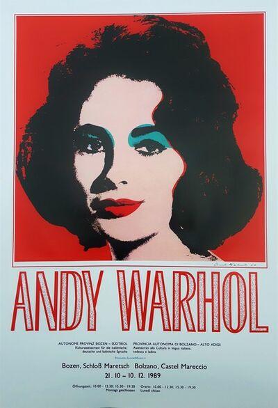 Andy Warhol, 'Andy Warhol at Castel Mareccio (Liz Taylor)', 1989