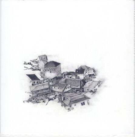 Samantha Scherer, 'Tumbled Houses (1)', 2015