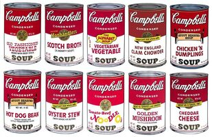 Sunday B. Morning, 'After Andy Warhol, Campbells Soup II portfolio', 1969-2020