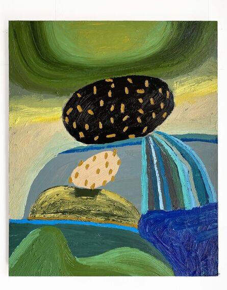 Abel Macias, 'Waterfall Rock', 2020