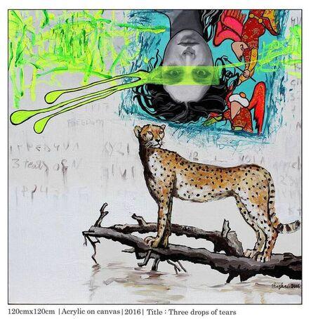 Shaghayegh Shojaian, 'Three drops of tears', 2016