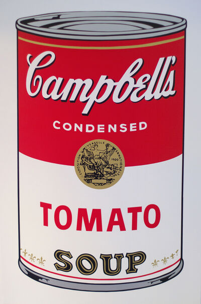 Andy Warhol, 'Tomato - Campbell's Soup I - After Warhol', 2018