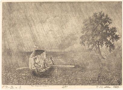 Emmanuel Phélippes-Beaulieu, 'The Big Shower', 1859