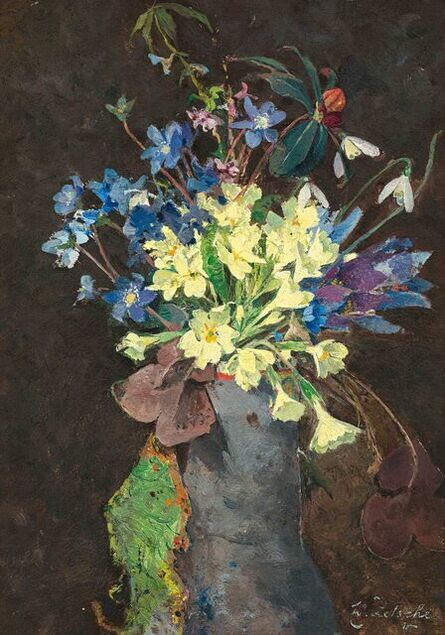 Eduard Zetsche, 'Spring Flowers', ca. 1900