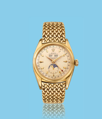 Rolex, 'Yellow gold wristwatch, ref. 6062', ca. 1950