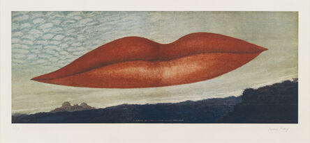 Man Ray, 'A l'heure de l'observatoire: les amoureux', 1970