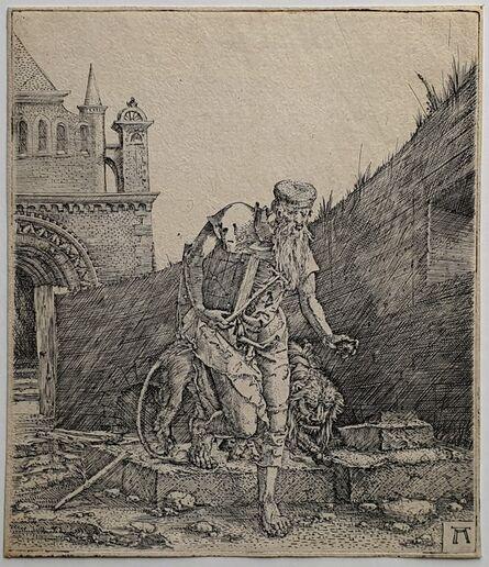 Albrecht Altdorfer, 'Saint Jerome Walking in a Churchyard', 1512-1515
