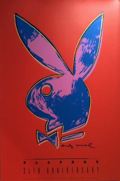 Andy Warhol, 'Andy Warhol Playboy 35th Anniversary Poster Original Print', 1989