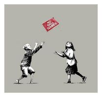 Banksy, 'No Ball Games (Grey) (Signed) ', 2009