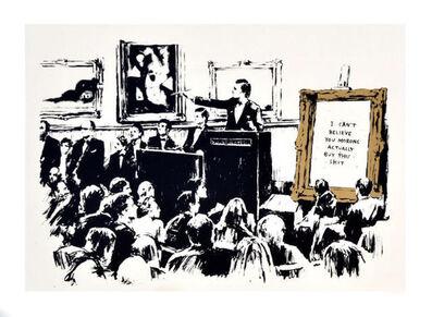 Banksy, 'Morons (LA Version)', 2007