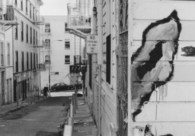 Arabella Colton, 'Wall Dog Ear —No Parking at Any Time. Fresno Alley, San Francisco 1992 ', 1992