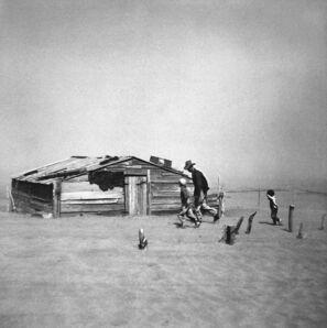 Arthur Rothstein, 'Dust storm, Cimarron County, Okalahoma', 1936