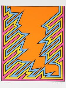 Nicholas Krushenick, 'Untitled - Funky Orange', 1979
