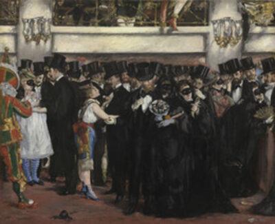 Édouard Manet, 'Masked Ball at the Opera', 1873