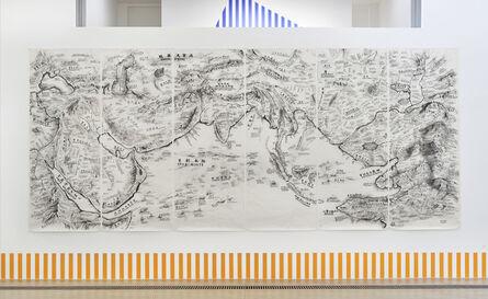 Qiu Zhijie, 'Map of China - Arabia', 2019