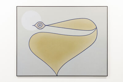 Anthony Miler, 'Single Gold With White', 2020