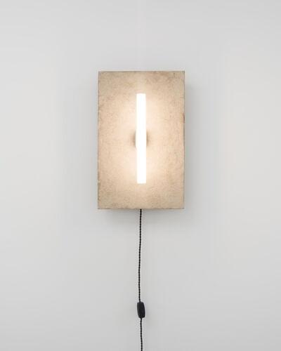 Fredrik Paulsen, 'Stoned Wall Lamp', 2015