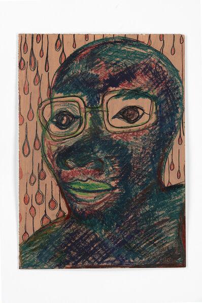 Barthélémy Toguo, 'Lockdown Selfportrait 13', 2020