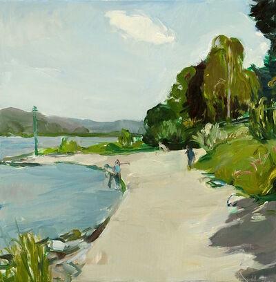 Martin Stommel, 'The River Rhine's bank at Godesberg', 2020