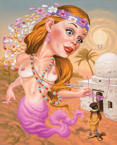 Todd Schorr, 'I Dream of Hippie', 2013