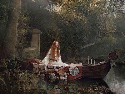 Julia Fullerton-Batten, 'The Lady of Shalott', 2018