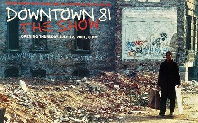 Jean-Michel Basquiat, 'Basquiat Downtown 81 exhibition poster ('Downtown 81 The Show' Jeffrey Deitch gallery) ', 2001