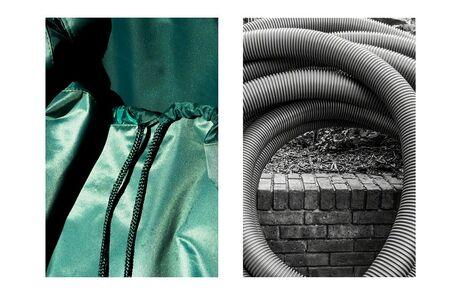Eglantine Lavogez, 'Diptych 2', 2010