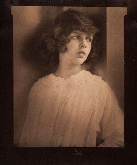 Edward Steichen, 'Portrait of Naticia Nast', 1917