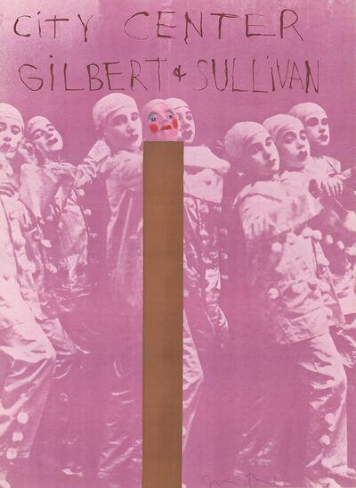 Jim Dine, 'Gilbert And Sullivan'