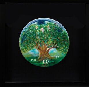 Muzaffer Akyol, 'Gratitude Ritual By The Olive Tree', 2018