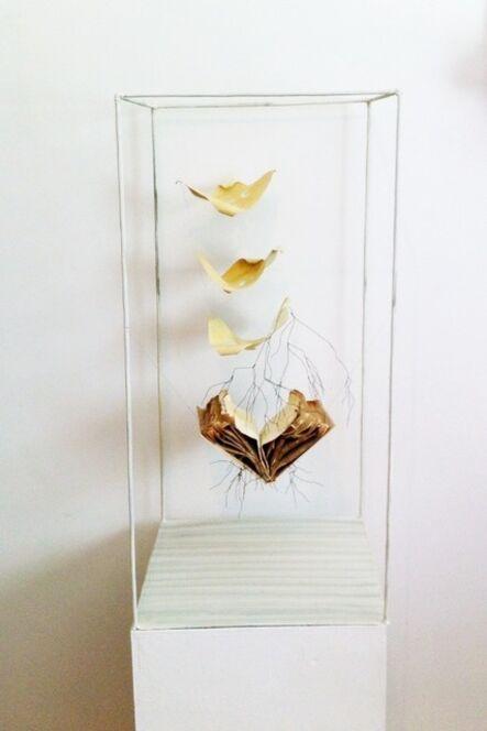 Houda Terjuman, 'Untitled (livre enraciné)', 2014