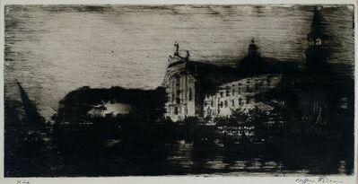 Clifford Isaac Addams, 'San Georgio: Nocturne, Venice', ca. 1914