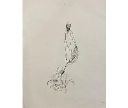 Delia Cancela, 'Mujer - planta', 2018
