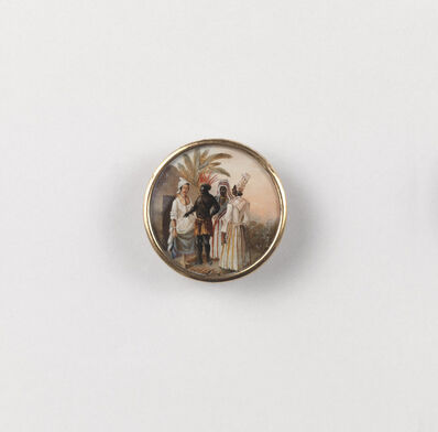 Agostino Brunias, 'Button Showing West Indian Scene', ca. 1795