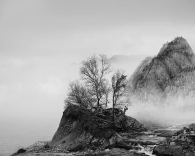 Yang Yongliang 杨泳梁, '太古蜃市 - 岩 Time Immemorial - The Rock', 2016