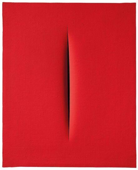 Lucio Fontana, 'Concetto Spaziale, Attesa', 1967