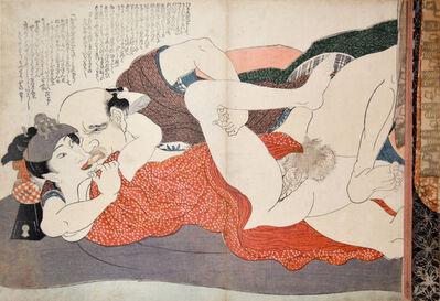 Yanagawa Shigenobu, 'Male Prostitute: Willow Storm', ca. 1832