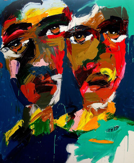 Harold Smith, 'Two Black Men II', 2020