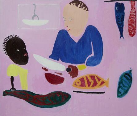 Georgia Hayes, 'Chopping Fish', 2016