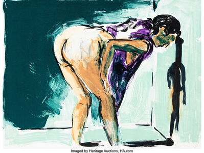 Eric Fischl, 'Annie, Gwen, Lilly, Pam and Tulip (Bending Woman in Purple)', 1987