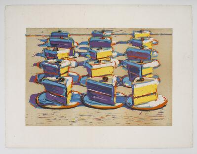 Wayne Thiebaud, 'Boston Crèmes'