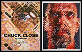 Chuck Close, 'Chuck Close Recent Works (Hand Signed)', 2002