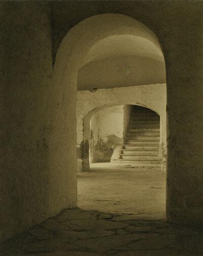 Tina Modotti, 'Convent of Tepotzotlan, Mexico (Stairs through Arches)', 1924