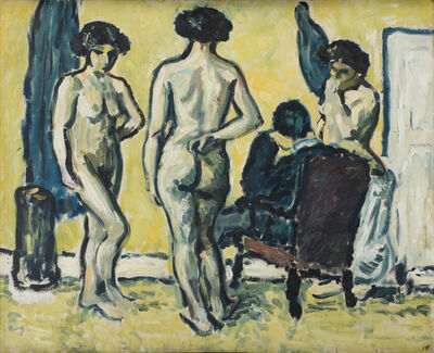 Harald Giersing, 'The Judgment of Paris', 1909
